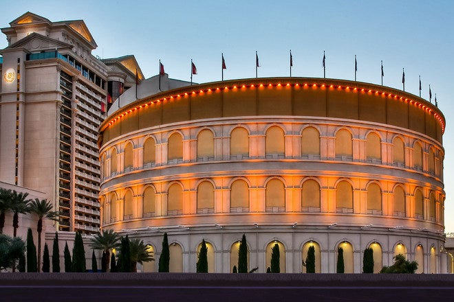 The Colosseum at Caesars Palace - Best Nightlife in Las Vegas