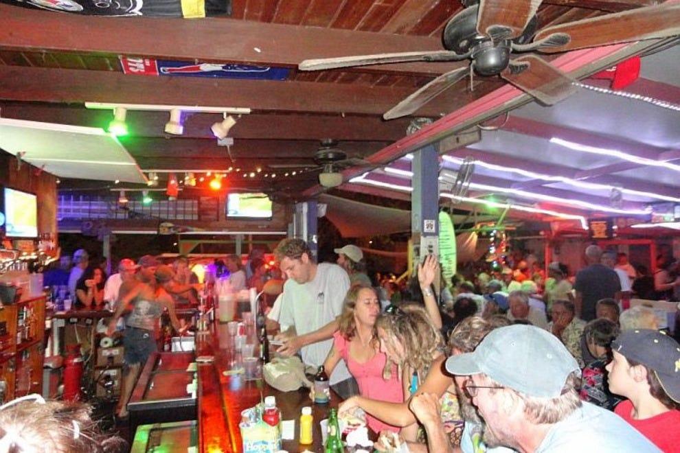 Best u s virgin islands nightlife top 10best nightlife for Food bar on virgin trains