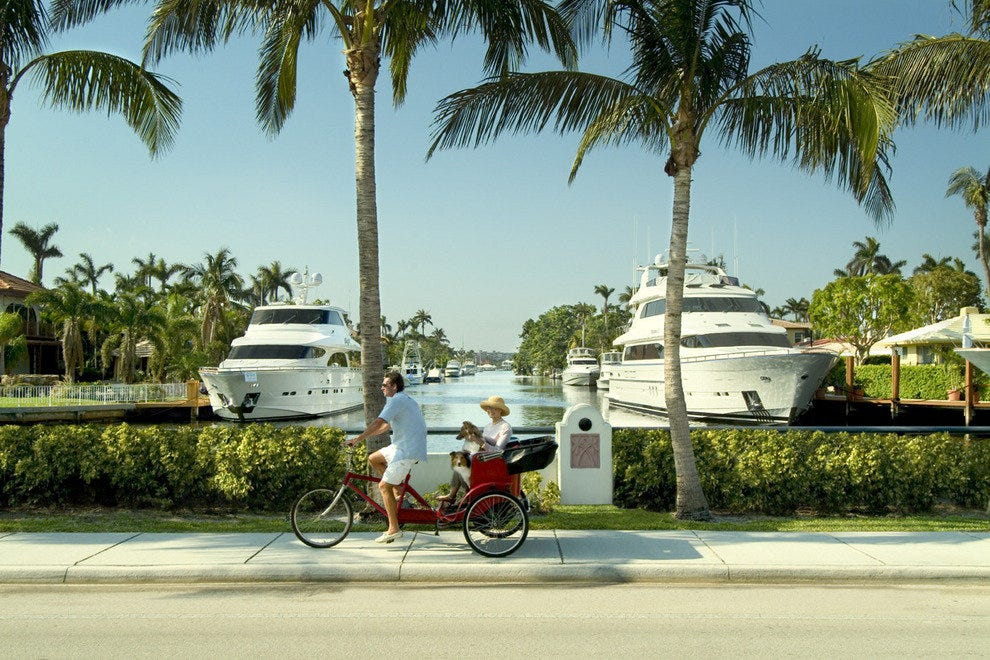 Spend a day of luxury shopping in Fort Lauderdale