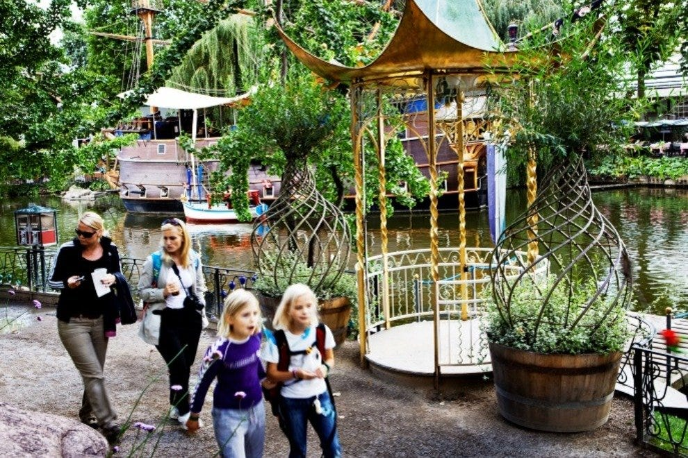 Tivoli is an obvious favorite for families visiting Copenhagen.