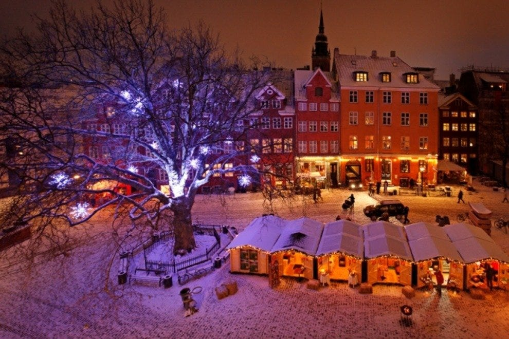 With Christmas markets all over the city, Copenhagen is especially cozy in December