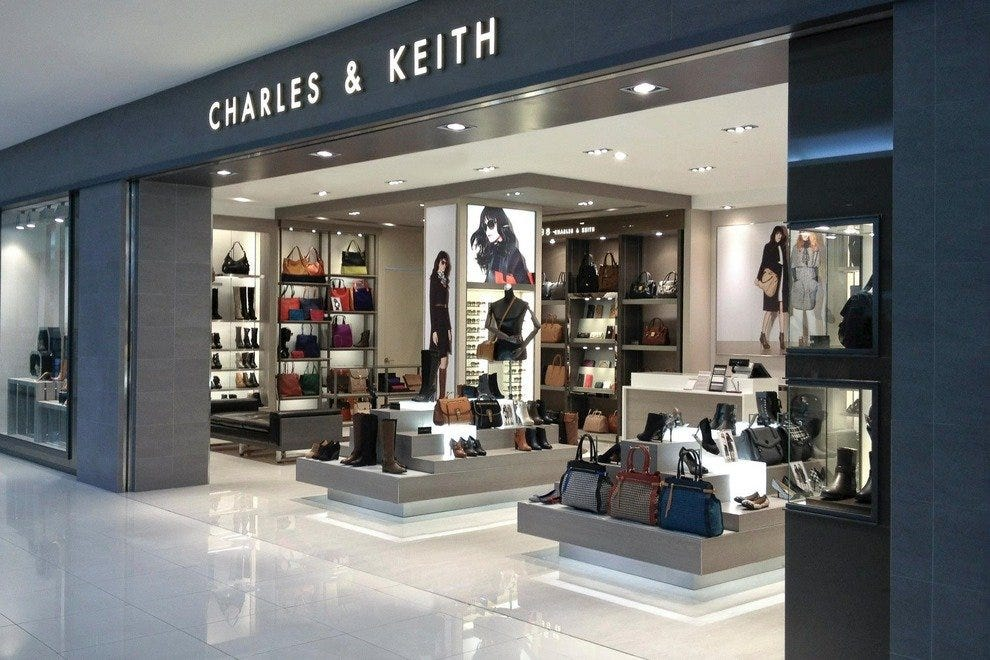 Charles & Keith Signature Label