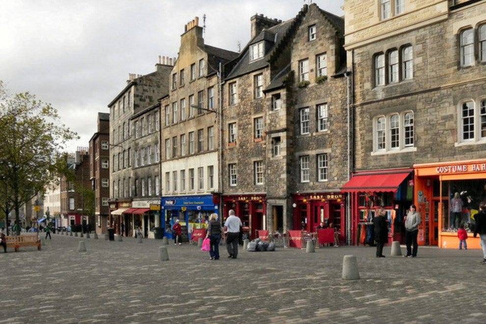 Enlightone: Grassmarket: Edinburgh Attractions Review