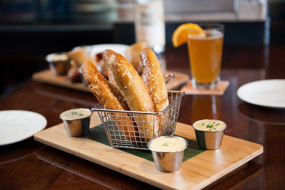 Soft Garlic Butter Pretzel Sticks