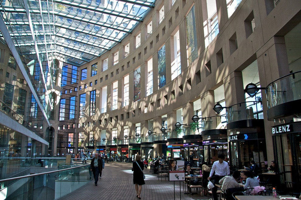 Central Library in Vancouver, B.C.