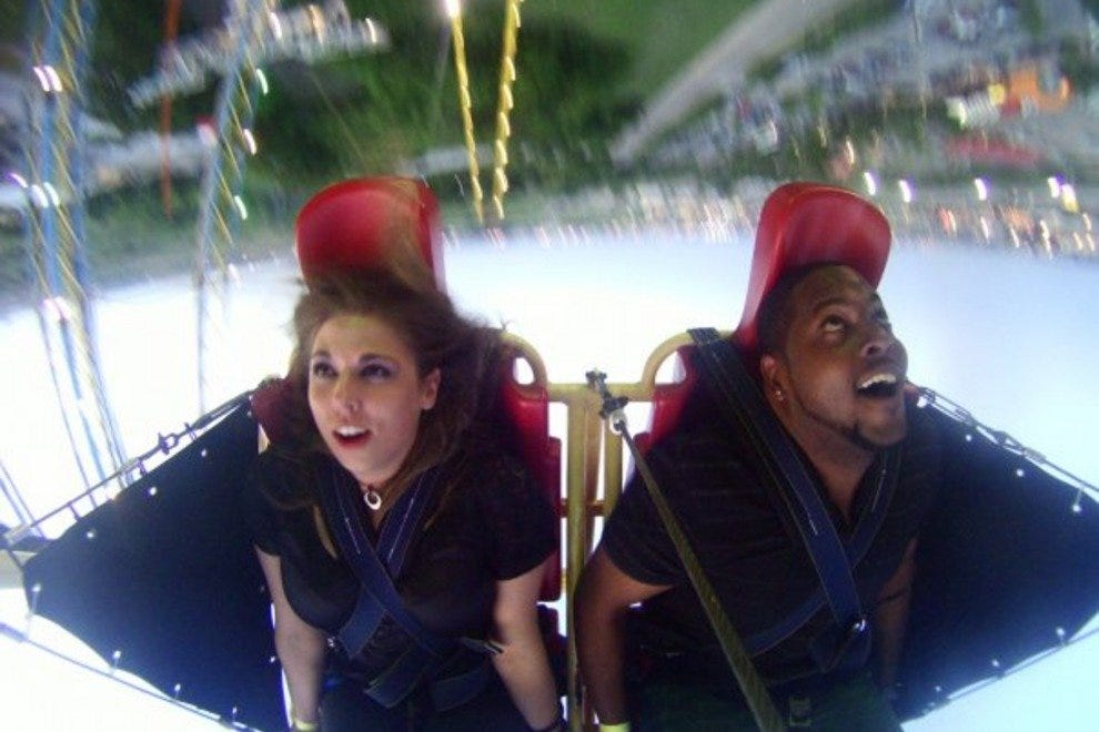 "Zero Gravity: No wonder they call it a ""thrill amusement"" park"