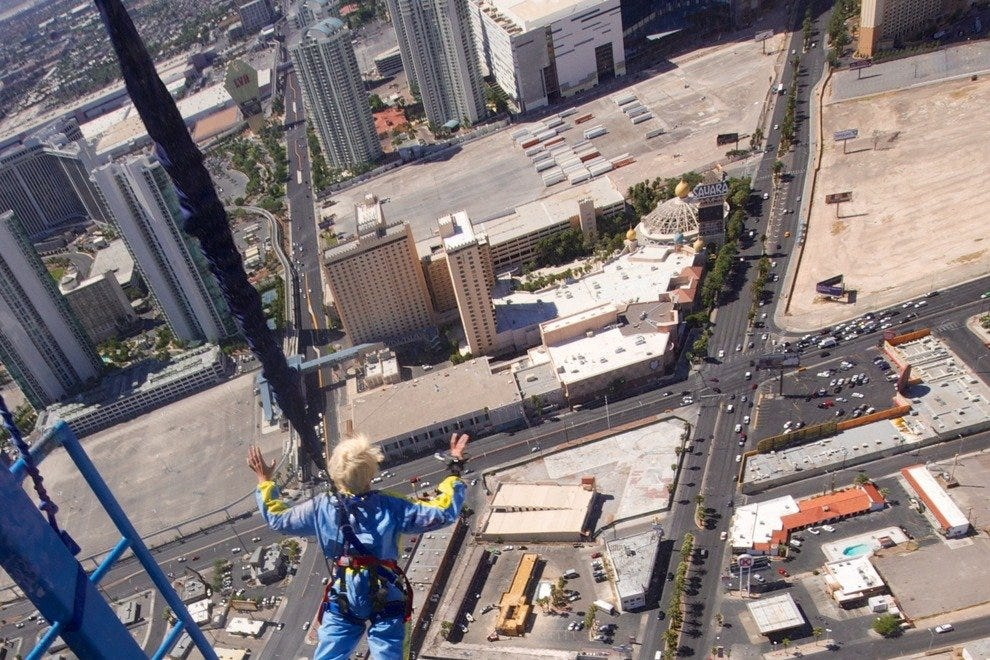 See Las Vegas like never before with SkyJump