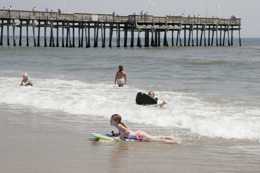 Atlantic beaches offer privacy drama in fall features for Surf fishing virginia beach