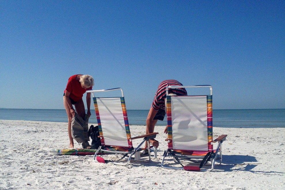 Barefoot Beach Florida Map.Fort Myers Beaches 10best Beach Reviews