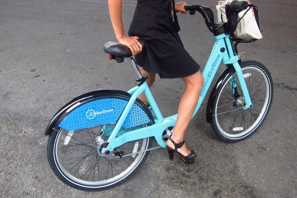 Grab a Bay Area Bike Share ride, and get to pedaling