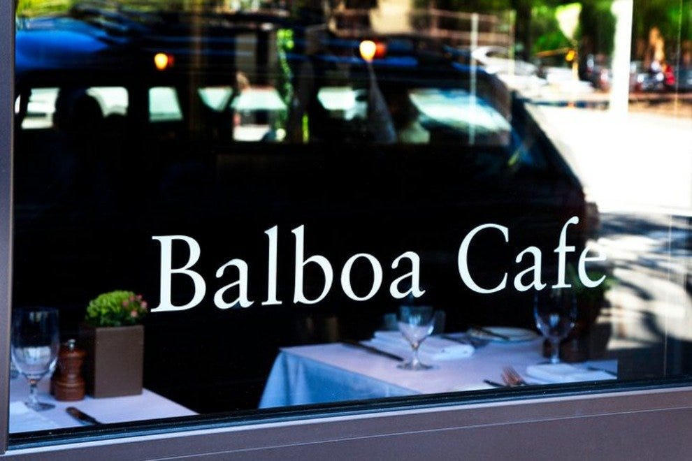 Balboa Cafe - Mill Valley