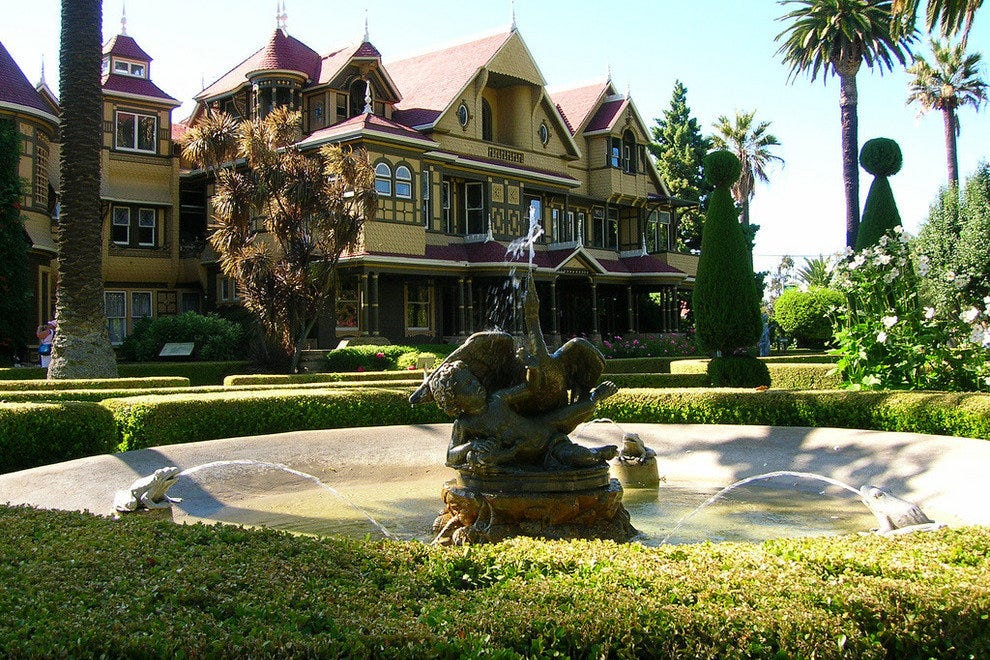 The Winchester Mystery House in California