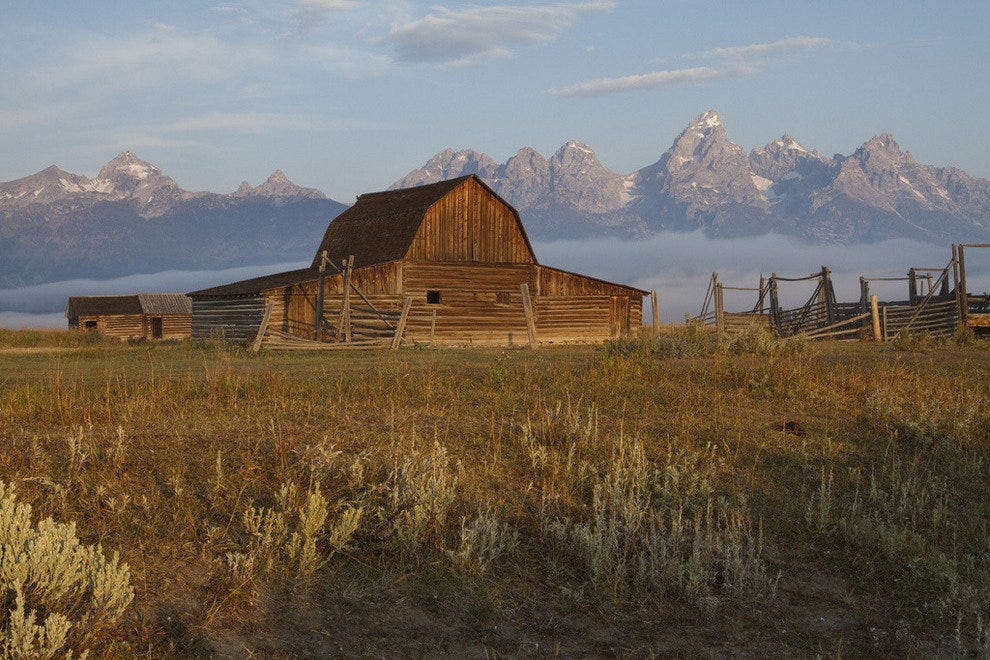 Moulton Barn in Mormon Row, Grand Teton National Park