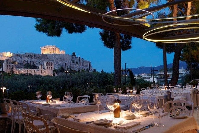 Outdoor Dining in Athens