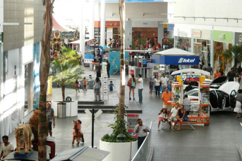 Malecon Americas is the new section of the mall