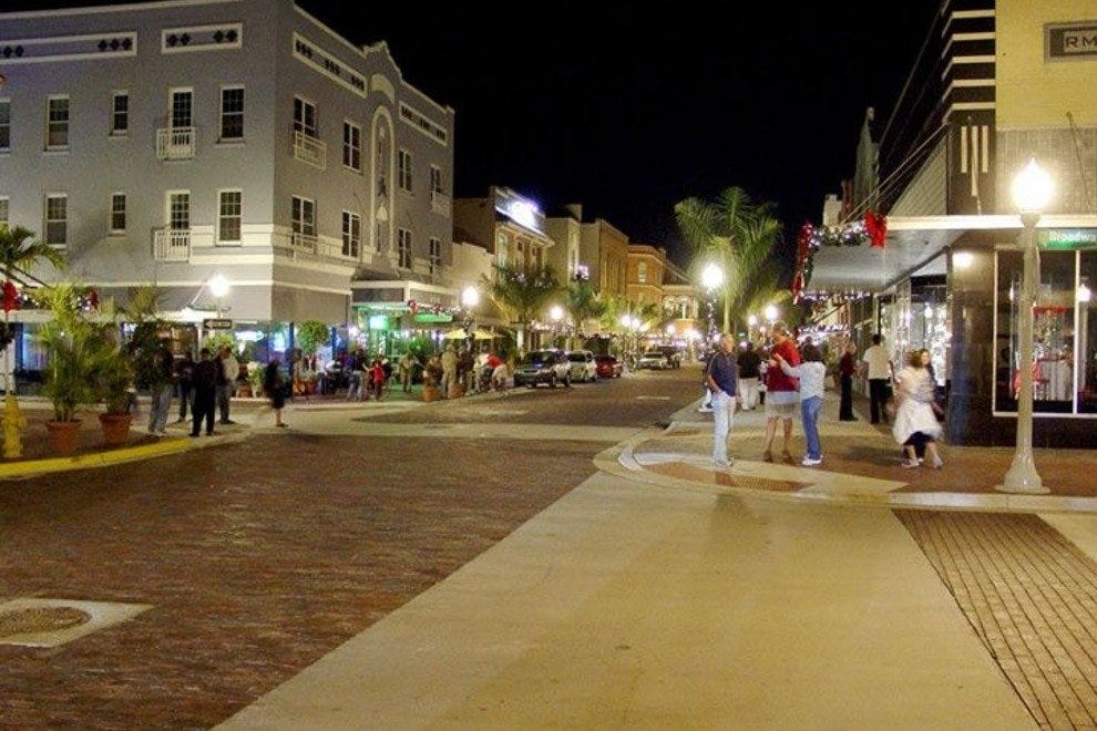 Stroll through Fort Myers River District Fort Myers Attractions
