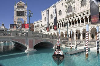 Canals and Gondolas at Venetian