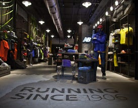 Shoe Company New Balance Opens Experience Store in Boston