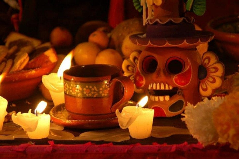 Xcaret holds a Day of the Dead festival every year