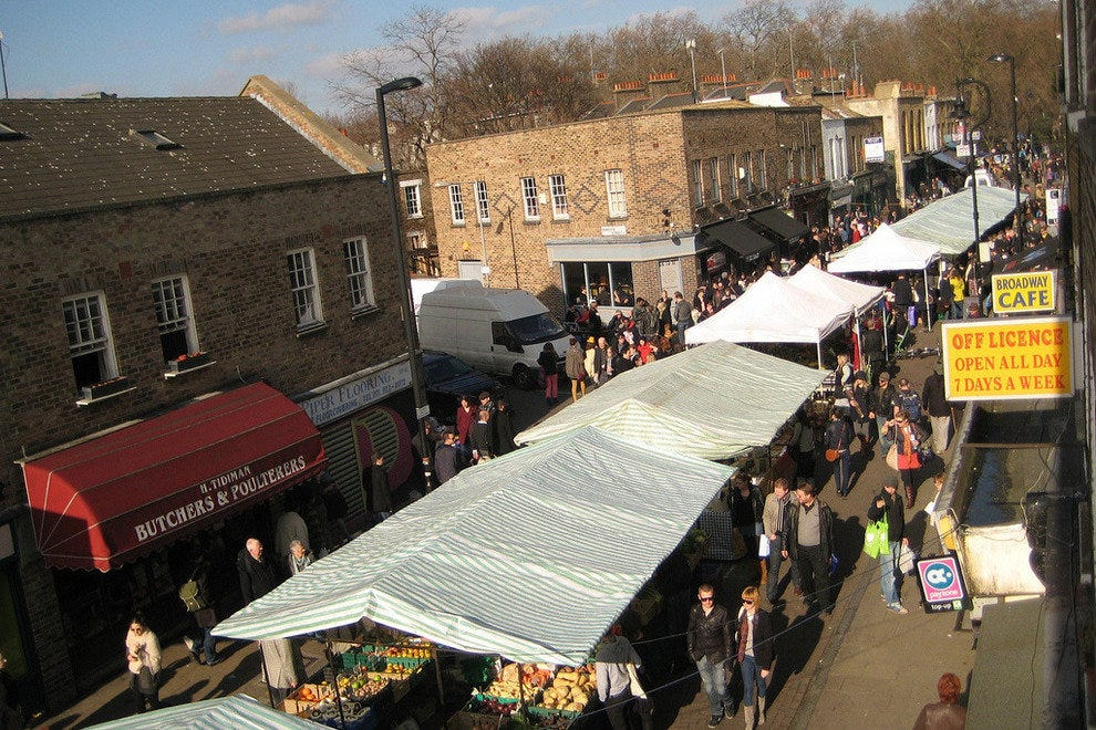 Hackney Food Market