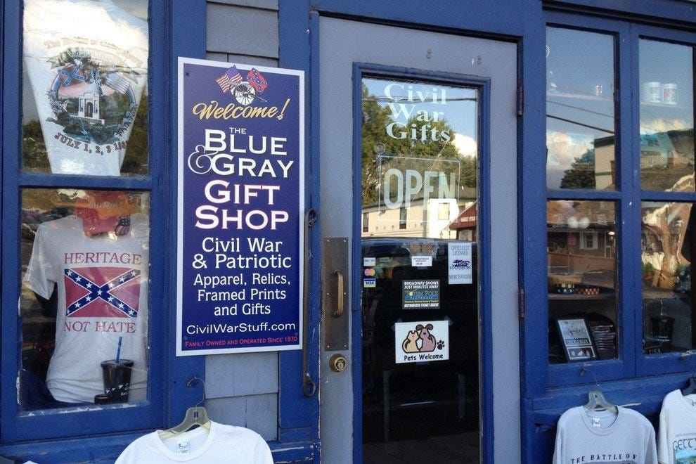 Blue & Gray Gift Shop