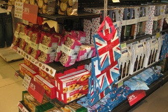 Brittania Rules at Marks & Spencer's Shopping Spots in Prague