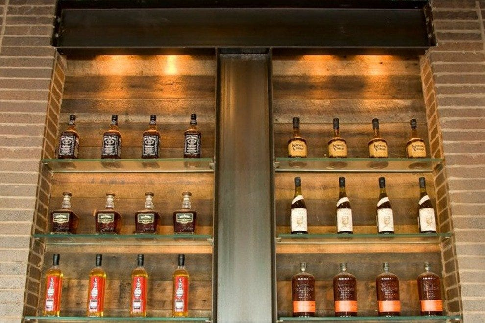 Some of the selection at Whiskey Kitchen.