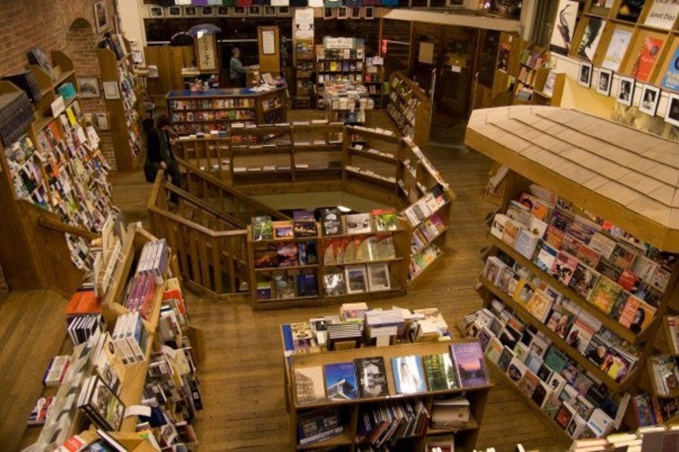 Get lost in the shelves of Elliott Bay Book Company