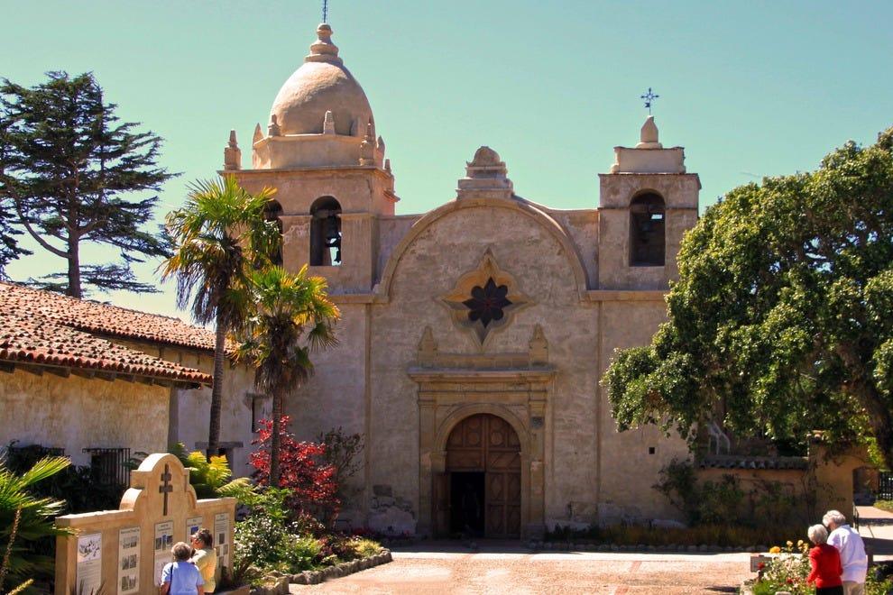 San Carlos Borromeo de Carmelo Mission, Carmel, California