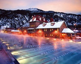 Ahhhhhh. . . Places with Natural Hot Springs