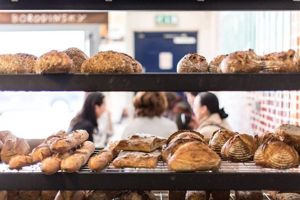 E5 Bakehouse, one of East London's many great foodie spots