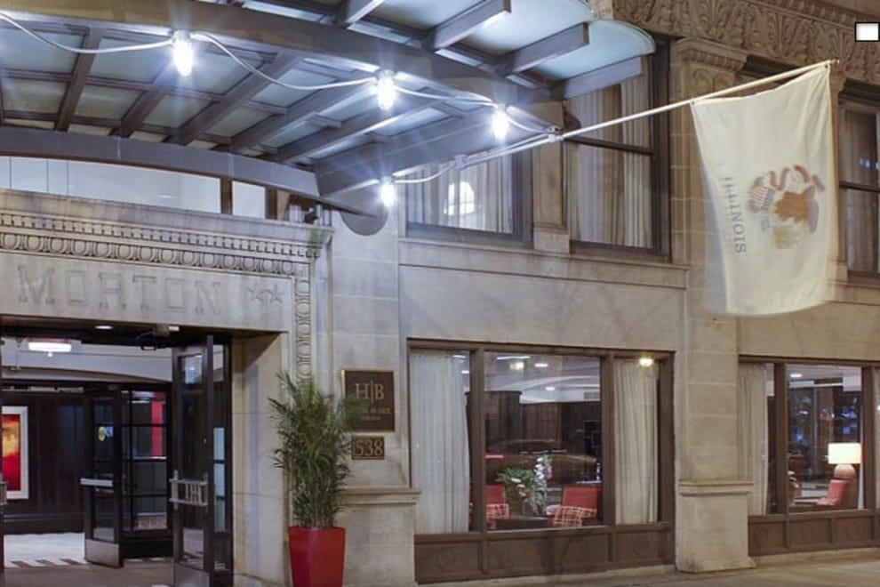 Wyndham blake chicago chicago hotels review 10best for The blake hotel chicago