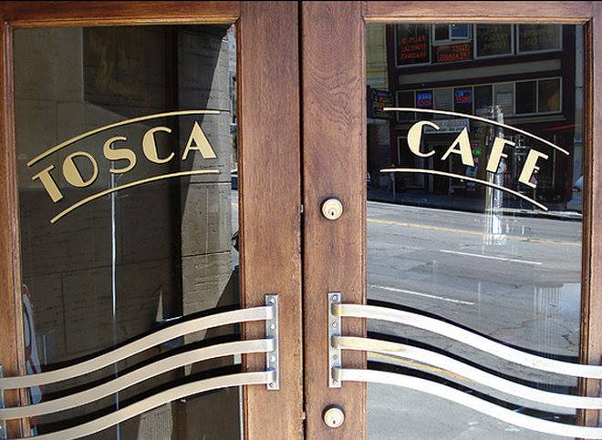 Tosca Cafe looks different, but offers the same genuine mix of society