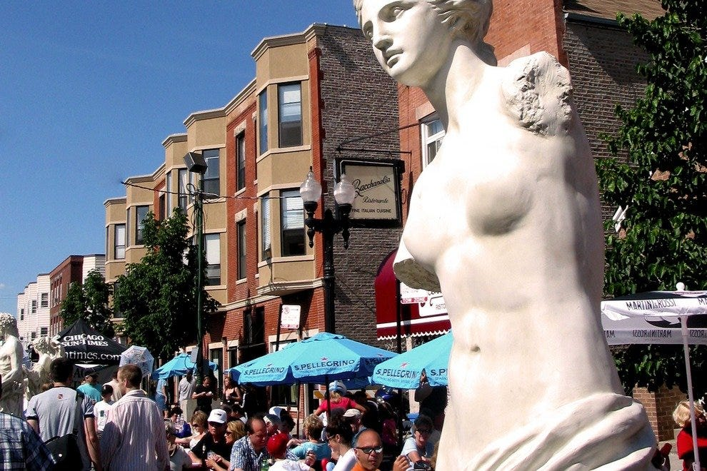 Taylor Street Morphs into the best of Italy during the neighborhood's annual Festa Italiana.