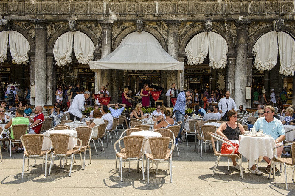 Cafe Florian in St Mark's Square