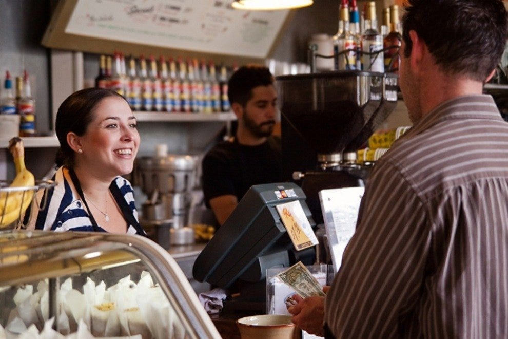 Enjoy great coffee and friendly service at The Daily Grind