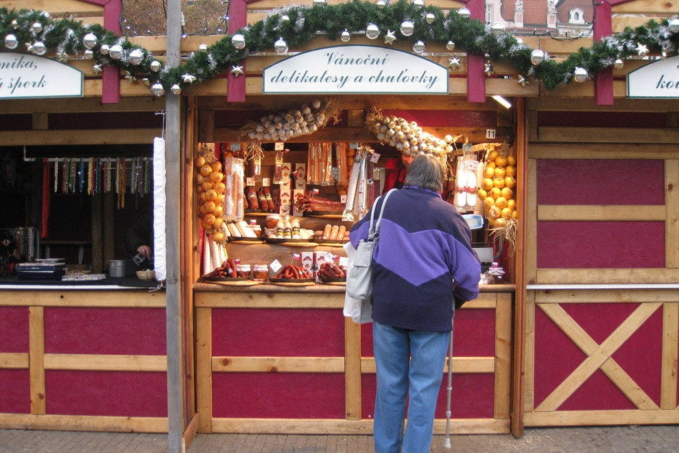 Christmas Market in Vinohrady