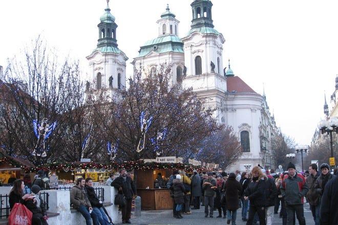 Christmas Shopping in Prague