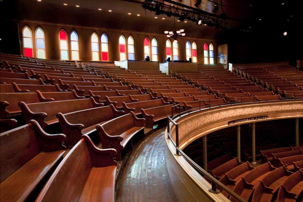 Ryman Auditorium Nashville Nightlife Review 10best
