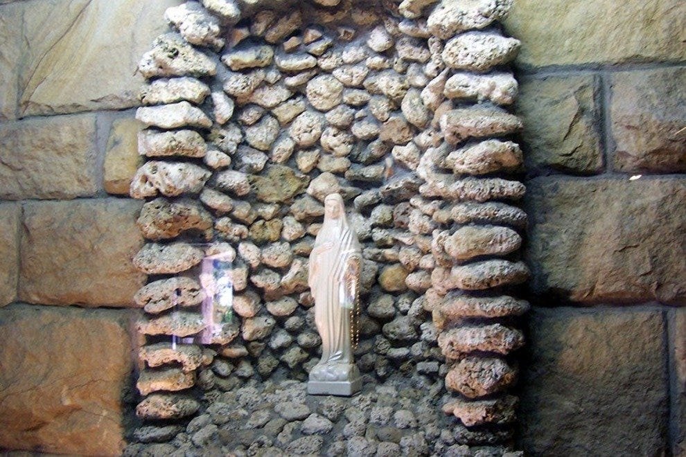 Shrine to the Weeping Madonna