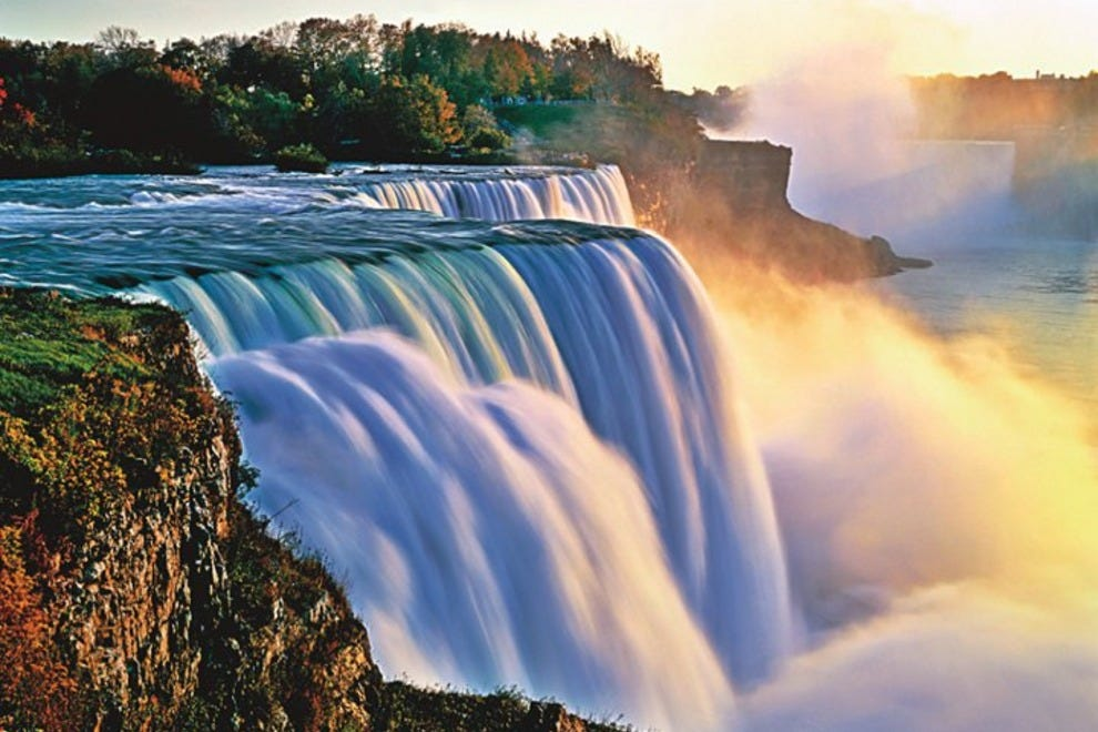 Niagara falls state park buffalo attractions review for Beautiful places to visit in new york state
