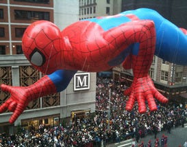 The Best Floats at Macy's Day Parade