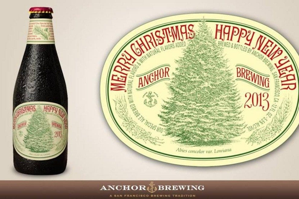 anchors christmas ale puts the surprise back into the holidays - Anchor Brewing Christmas Ale