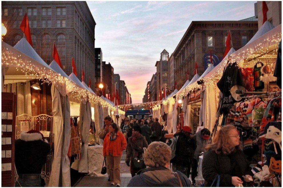 downtown holiday market - Christmas Market Dc