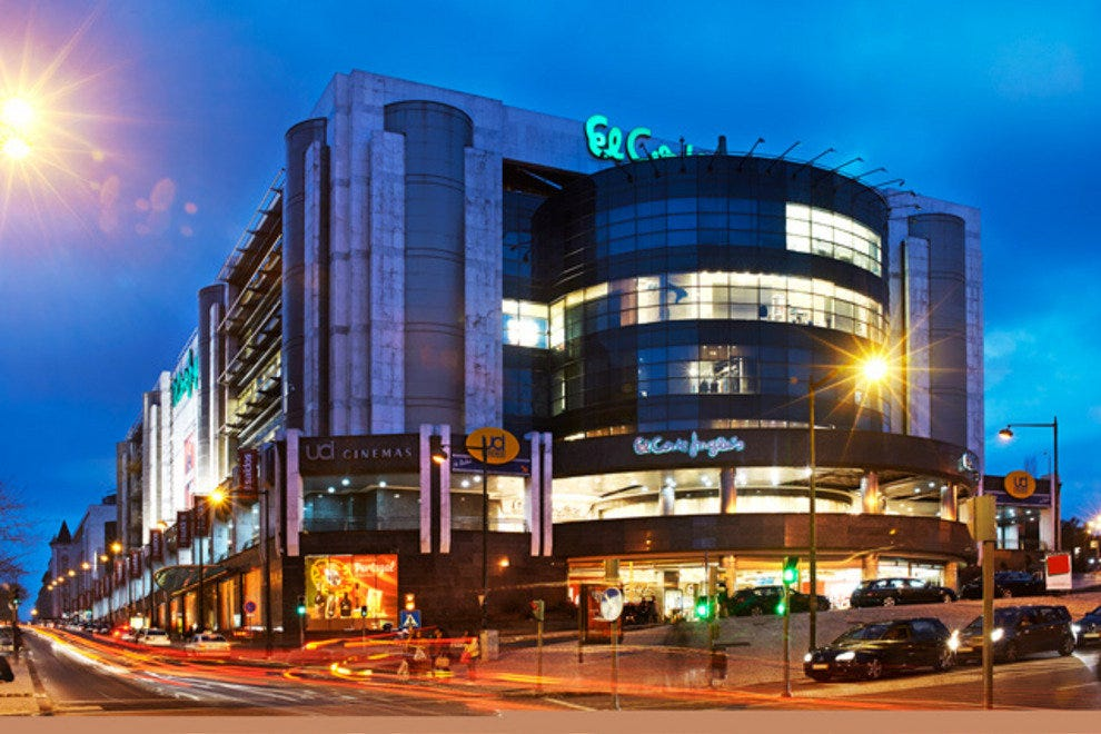 Lisbon malls and shopping centers 10best mall reviews - Taurus mycook el corte ingles ...