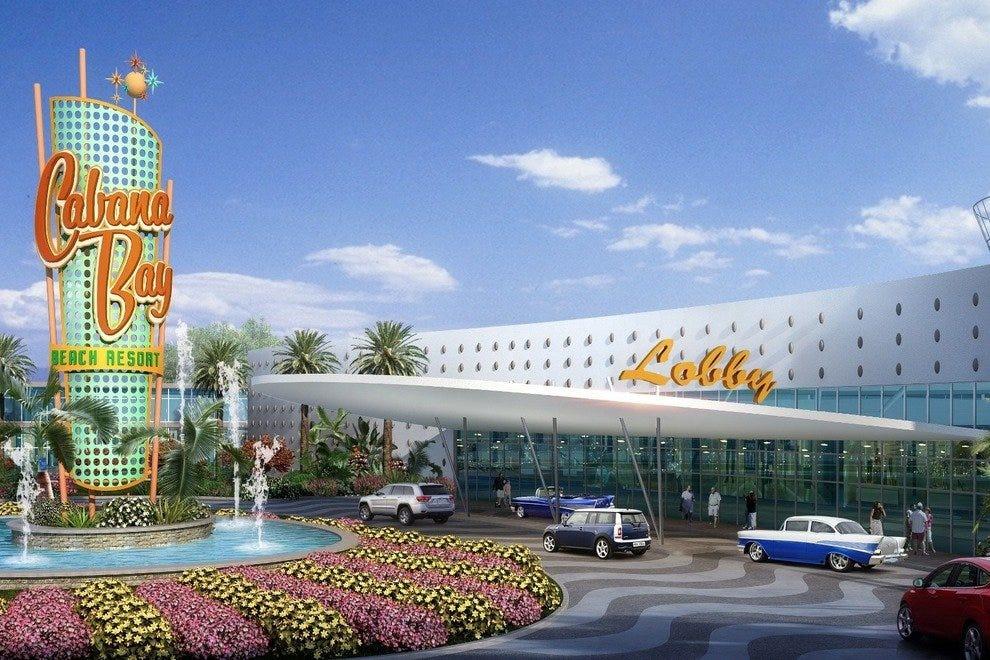 Cabana Bay Vibe酒店将在酒店前面为客人提供精致的花哨风格。