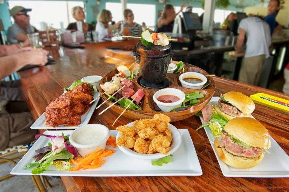 Southernmost Beach Cafe Lunch Menu