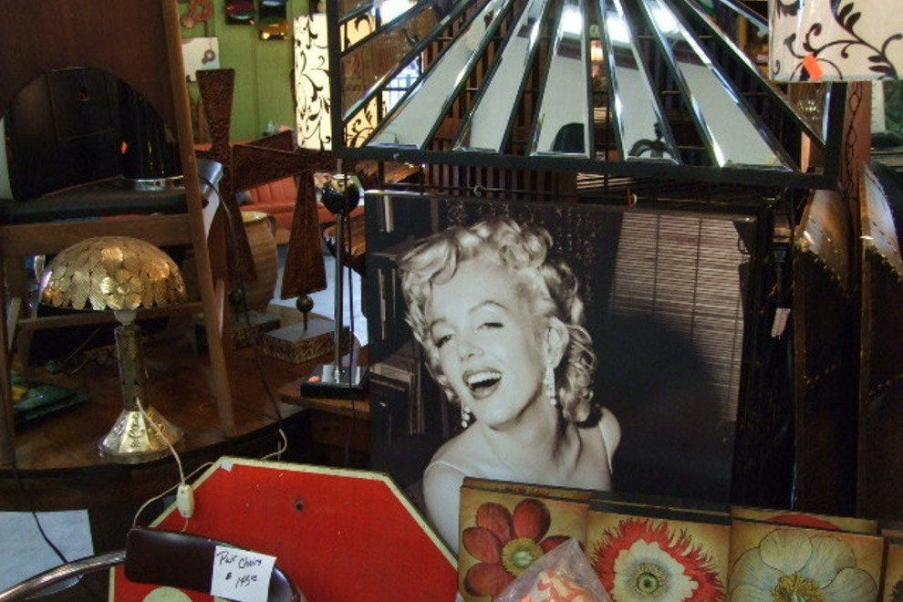 Canton's flea market offers unique gifts