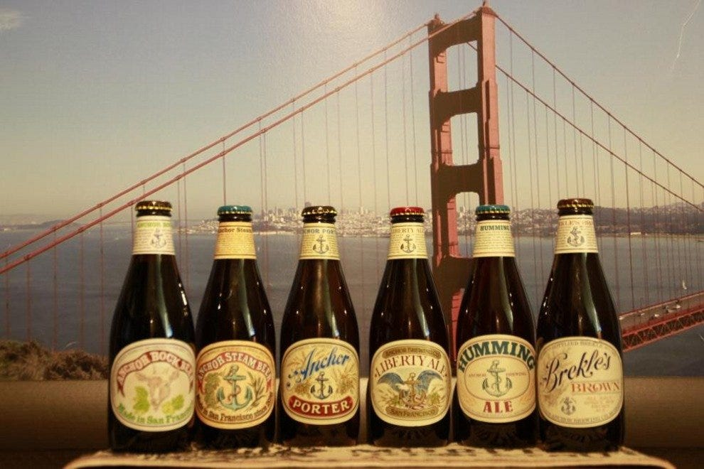 Anchor Steam Beers