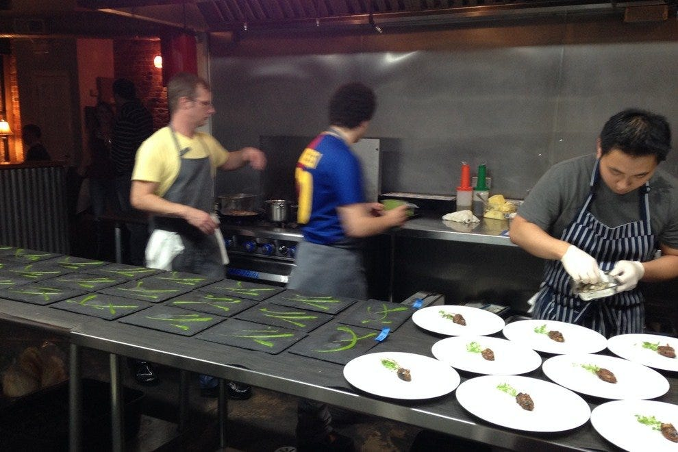 Inside the kitchen at EL Ideas